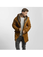 VSCT Clubwear Talvitakit Double-Zipper Huge Luxury ruskea
