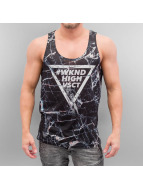 VSCT Clubwear Tank Tops Black Marble Tank colored