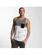 VSCT Clubwear 3-C Moulinee Knit Tank White/Grey/Black