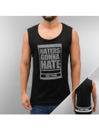 VSCT Clubwear Tanktop Haters Mesh zwart
