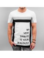 VSCT Clubwear Tričká My Tribute biela