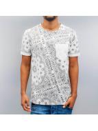VSCT Clubwear Tričká Bandana Pocket biela