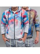 VSCT Clubwear Übergangsjacke Geo Palms 2in1 Reversible bunt