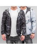VSCT Clubwear Veste demi-saison Marble 2in1 Reversible noir