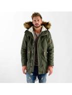 VSCT Clubwear Winter Jacket Luxury Parka olive