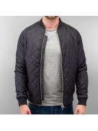 Wemoto Bomber jacket Unfold Nylon Quilted blue
