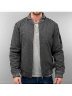 Wemoto Bomber jacket Lamar Wool gray