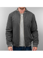 Wemoto Bomber jacket Lamar Wool grey