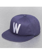 Wemoto Boston Snap Back Cap Navy Blue