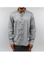Wemoto Chemise Friday Button Down gris