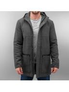 Wemoto Mantel Rabbit Wool grau