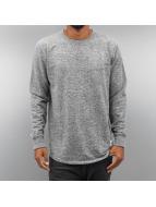 Wemoto Pullover Melton gris