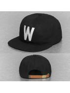 Wemoto Snapback Cap Boston schwarz