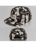 Wemoto snapback cap Run zwart