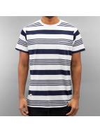 Wemoto T-skjorter Blake Stripe hvit