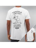 Wemoto T-skjorter Twizzle hvit