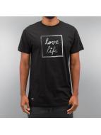Wemoto T-skjorter Lovelife svart