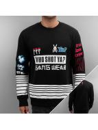 Who Shot Ya? Пуловер True Love Crew черный