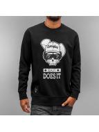 Who Shot Ya? Пуловер Easy черный