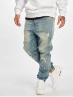 Who Shot Ya? Used Antifit Jeans Light Blue Denim