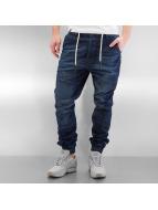 Who Shot Ya? Antifit jeans Tom blå