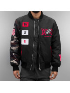 Who Shot Ya? Bomber jacket icekubicekube black
