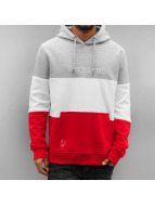 Who Shot Ya? Hoody 3 Tone grau