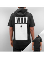 Who Shot Ya? Hoody Base zwart