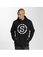 Who Shot Ya? Hoody Quilted zwart