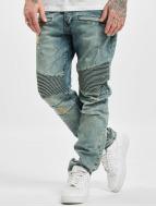 Who Shot Ya? Scissa Antifit Jeans Light Blue Denim