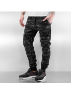 Who Shot Ya? Jogginghose Camo schwarz