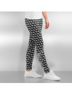 Who Shot Ya? Legging Allover schwarz