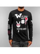 Who Shot Ya? Longsleeve Gang Wear schwarz