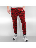 Who Shot Ya? Pantalón deportivo Camo rojo