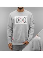 Who Shot Ya? Pullover Logo gris
