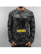 Who Shot Ya? Pullover Trae gris