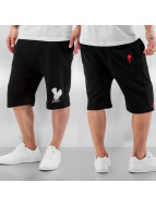 Who Shot Ya? Shorts Basic schwarz