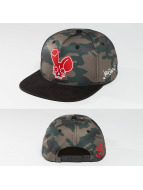 Who Shot Ya? Snapback Camo Fist èierna