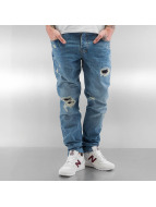 Who Shot Ya? Straight fit jeans Used blauw