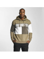 Who Shot Ya? Sweat à capuche This Tao beige