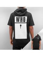 Who Shot Ya? Sweat à capuche Base noir