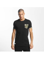 Who Shot Ya? Gangsteam T-Shirt Black
