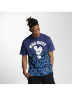 Who Shot Ya? t-shirt Bluecamou blauw