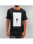 Who Shot Ya? T-shirt Bulllet Hole nero