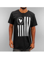 Who Shot Ya? T-Shirty Stars And Stripes czarny