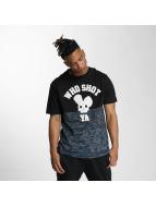 Who Shot Ya? Darkcamou T-Shirt Black