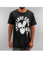 Who Shot Ya? Tričká True Love Crew 45 èierna