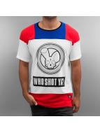 Who Shot Ya? Tričká Logo biela