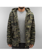 Who Shot Ya? Winterjacke Armee camouflage