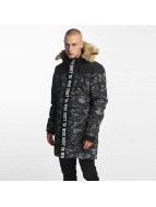 Who Shot Ya? BigWho Parka Grey Camouflage